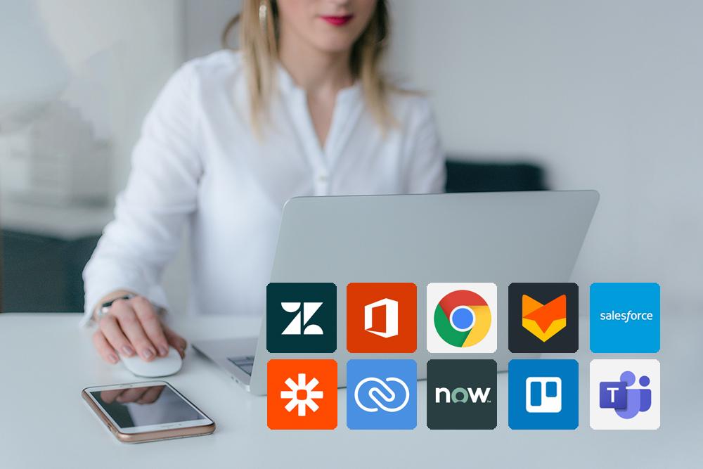 RingCentral is eenvoudig te integreren met Microsoft Teams, Salesforce®, Zendesk®, Google en 200+ andere integraties (open API).